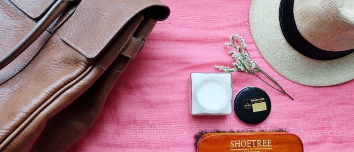 CARING FOR YOUR LEATHER ITEMS WITH THE SHOETREE PROJECT
