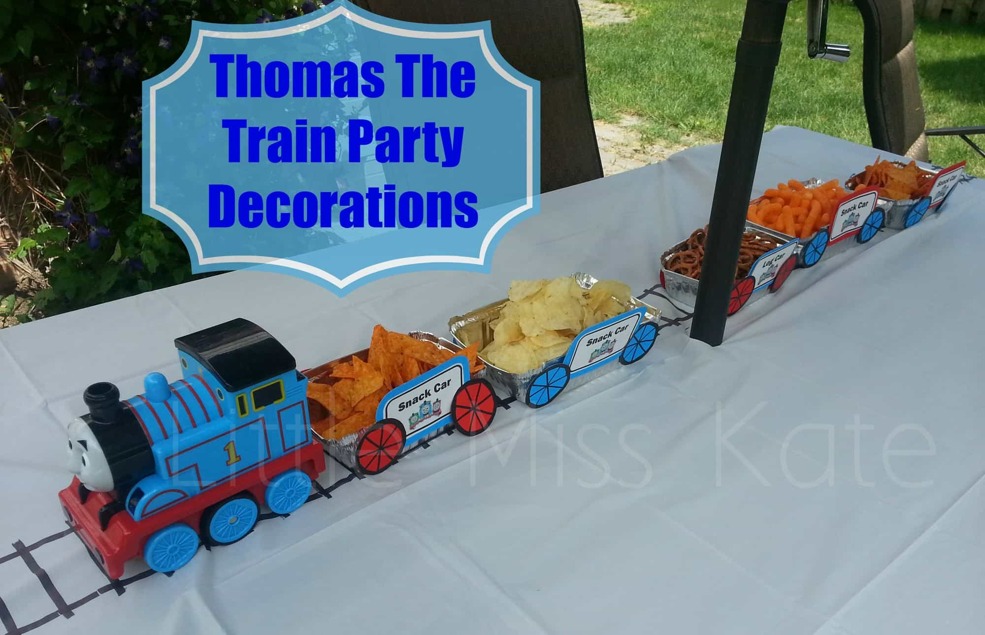 Thomas The Train Party Decorations The Exploring Family