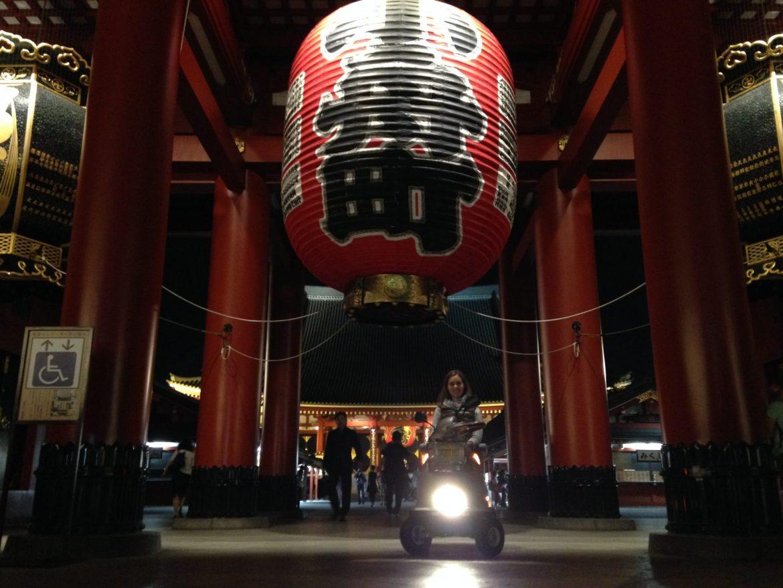 Accessible Sensoji Temple in Asakusa, Tokyo
