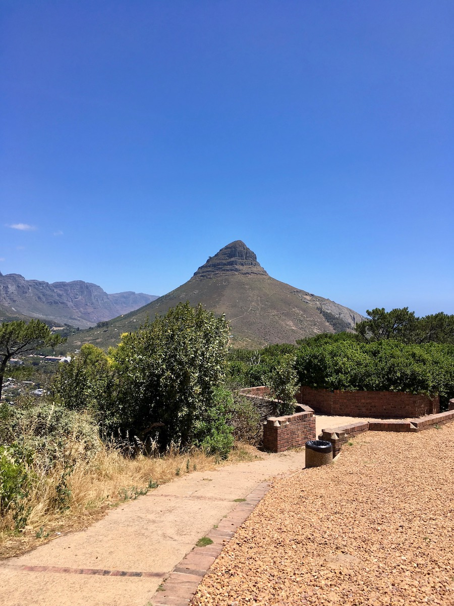 Lion's Head seen from Signal Hill