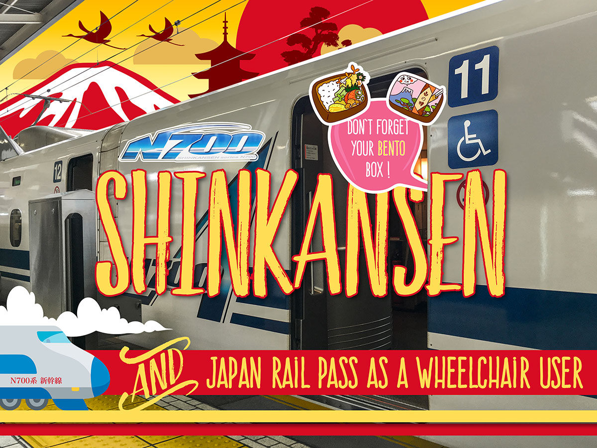 Shinkansen & Japan Rail Pass as a wheelchair user
