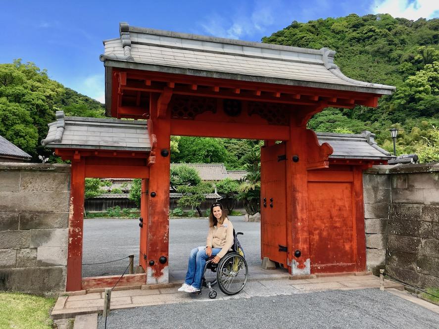 Red Gate Sengan-en | Little Miss Turtle