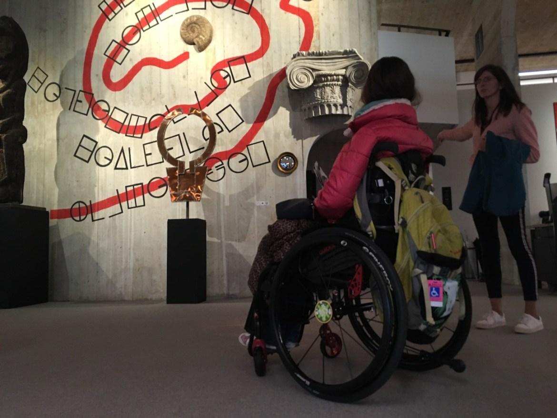 Musée L Louvain-La-Neuve | Little Miss Turtle | Accessible Travel Blog