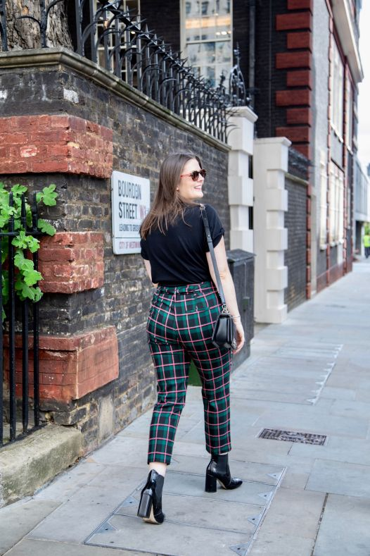 Kate Winney Little Miss Winney Checked Topshop Trousers Chanel Bag