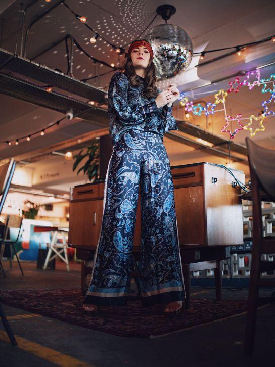 Kate Winney Little Miss Winney 70's 1970's vintage disco fashion hm co ord