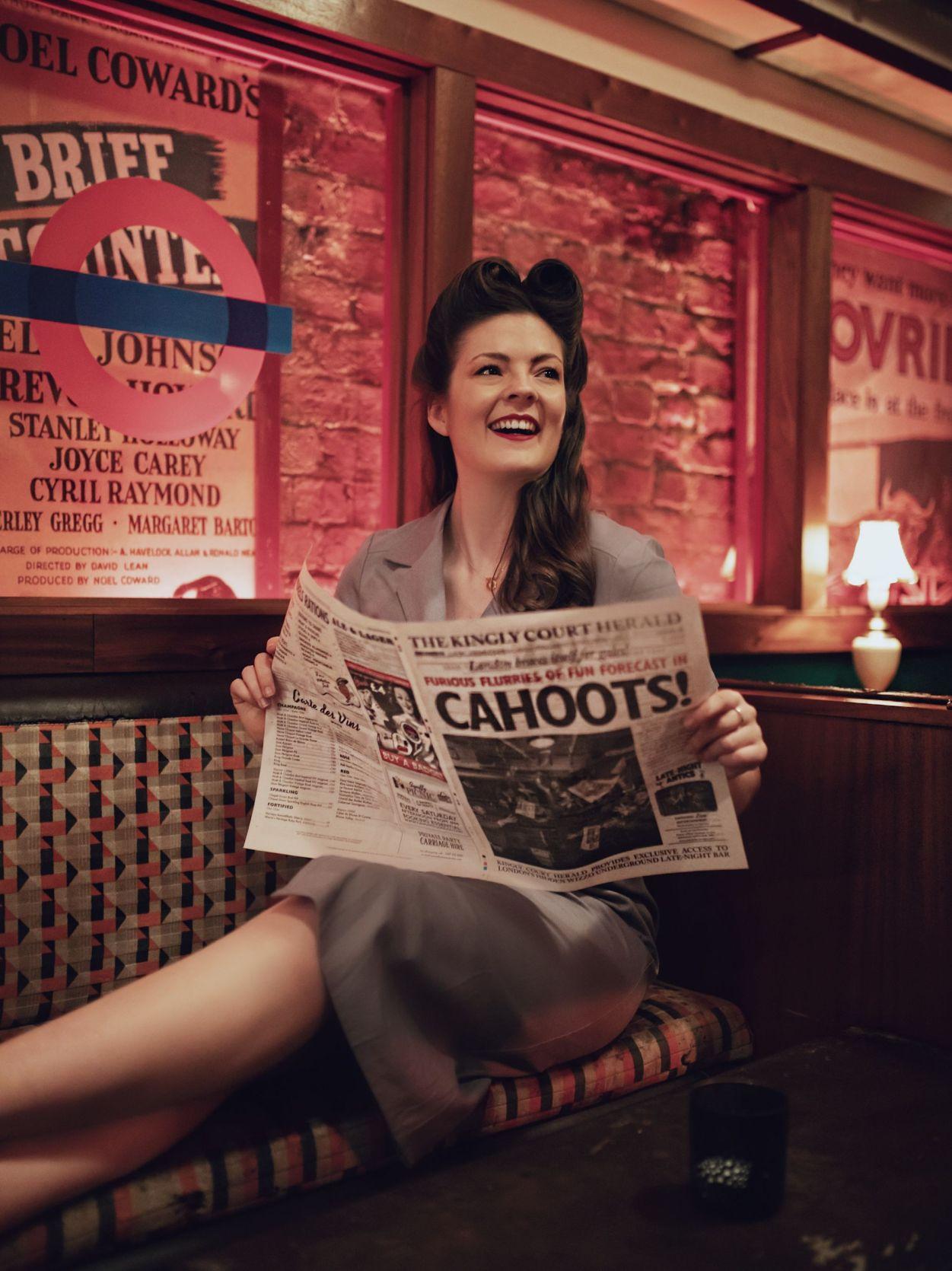 1940's Vintage Kate Winney Decades Cahoots Bar