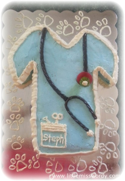 Scrub Cake, Medical Cake