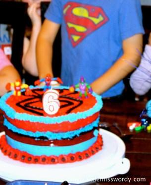 Spiderman Cake, Super Hero Birthday