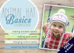 Animal Hat Basics by Little Monkeys Crochet  |  Learn how to make a pom pom, how to change colors neatly in the round, how to make braided tassels for your earflaps, and how to attach facial features in this multi-part series by Little Monkeys Crochet.