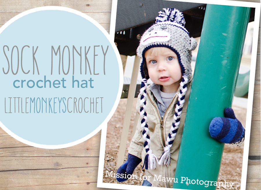Sock Monkey Hat Free Pattern Little Monkeys Crochet
