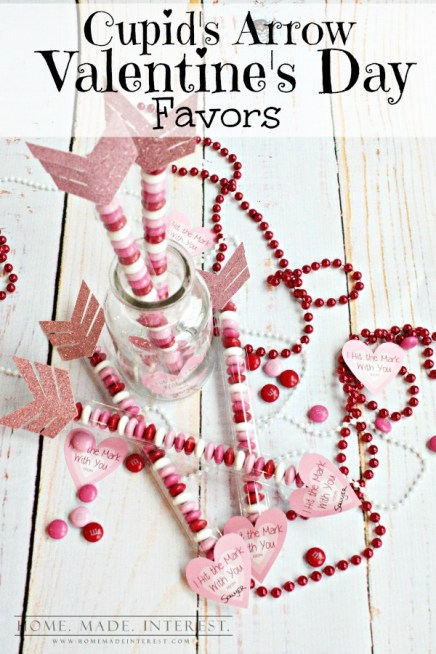 Valentine's Day Cupid's Arrow Favors  |  Off the Hook Monday