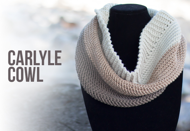 Carlyle Cowl Crochet Pattern | Free cowl crochet pattern by Little Monkeys Crochet
