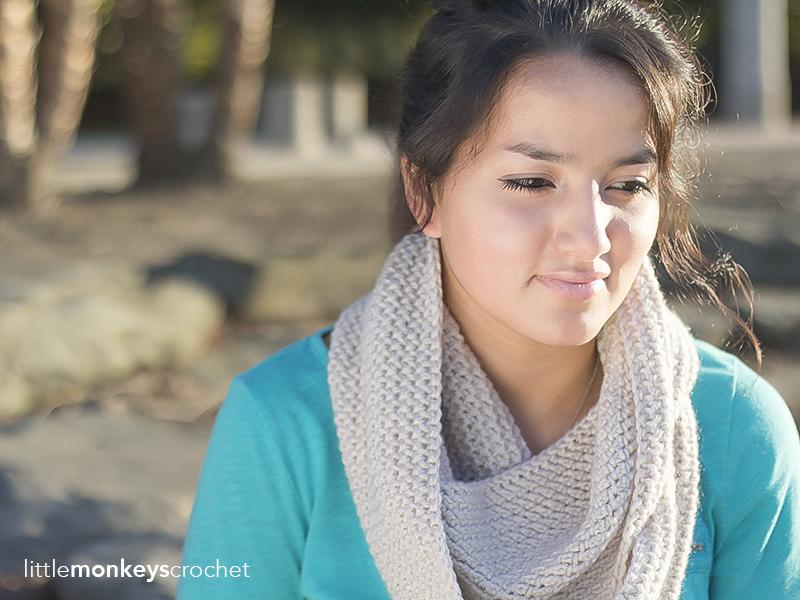 Savannah Slouch & Infinity Scarf Crochet Pattern Set   Free infinity scarf and slouchy hat crochet patterns by Little Monkeys Crochet