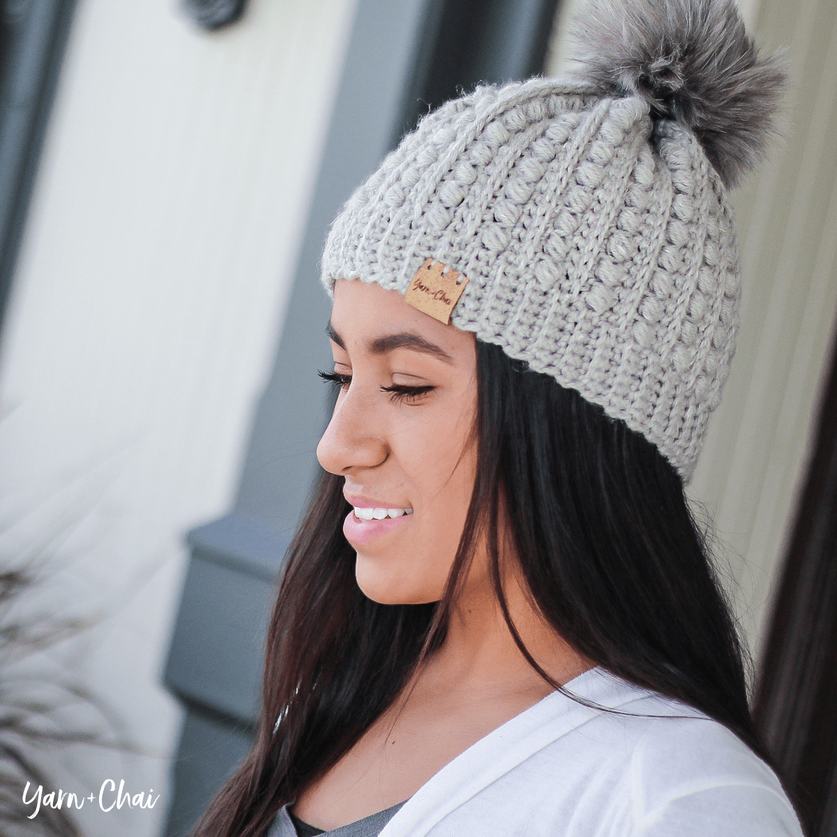 Here are a couple more photos of this stylish beanie 491a154826b3