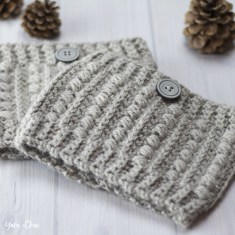 The Malia Boot Cuffs | Little Monkeys Crochet