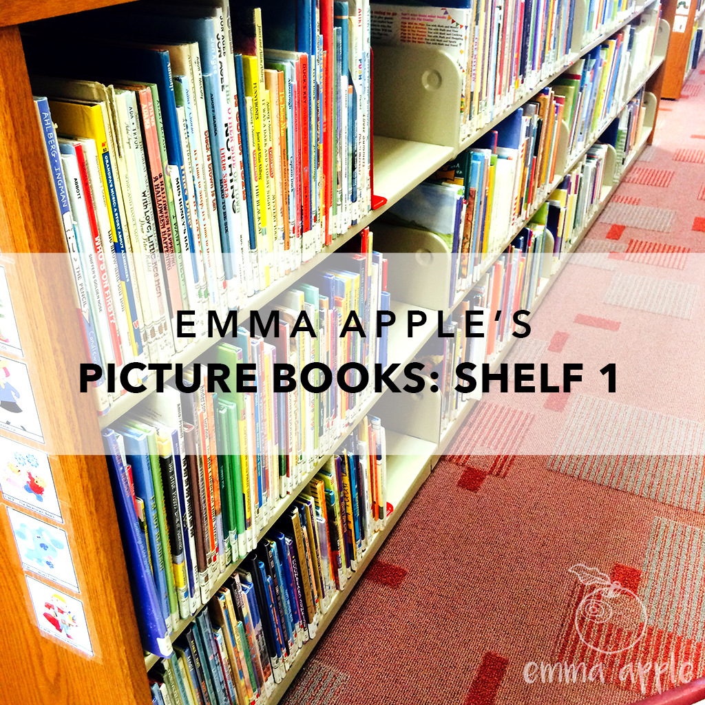 Emma Apple's Picture Books Shelf 1