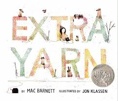 Extra Yarn by Mac Barnett, Illustrated by Jon Klassen - Picture Books with Emma Apple - Extraordinary Picture Book Characters