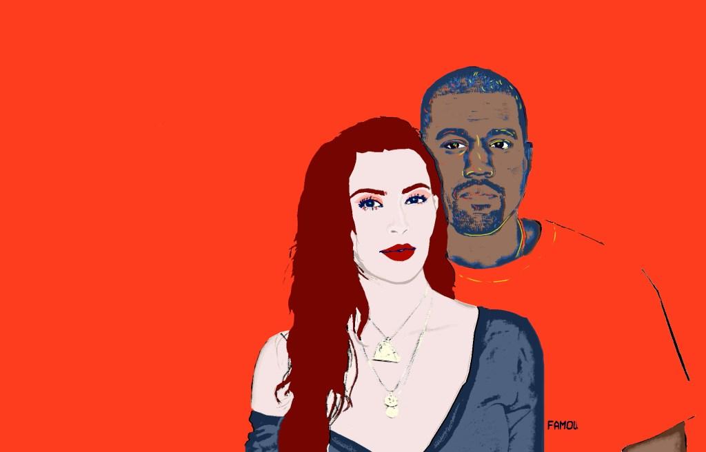 Chloe business Kim and Kanye Warhol