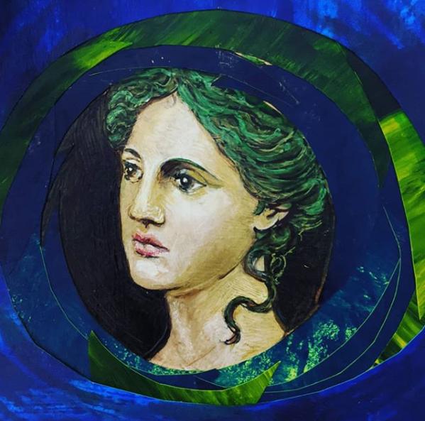 Armenian Goddess,  March 2020