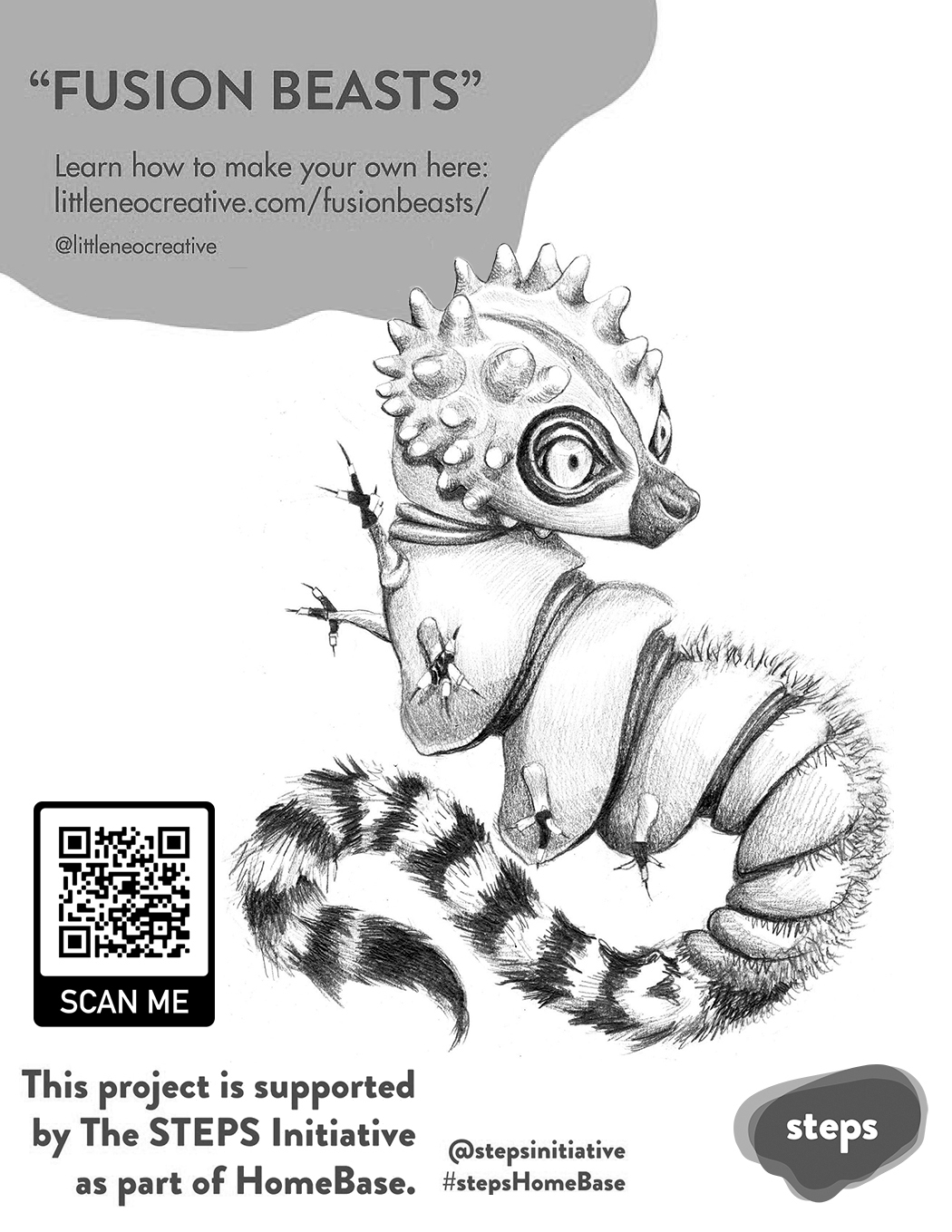 Fusion Beast Poster, April 2020