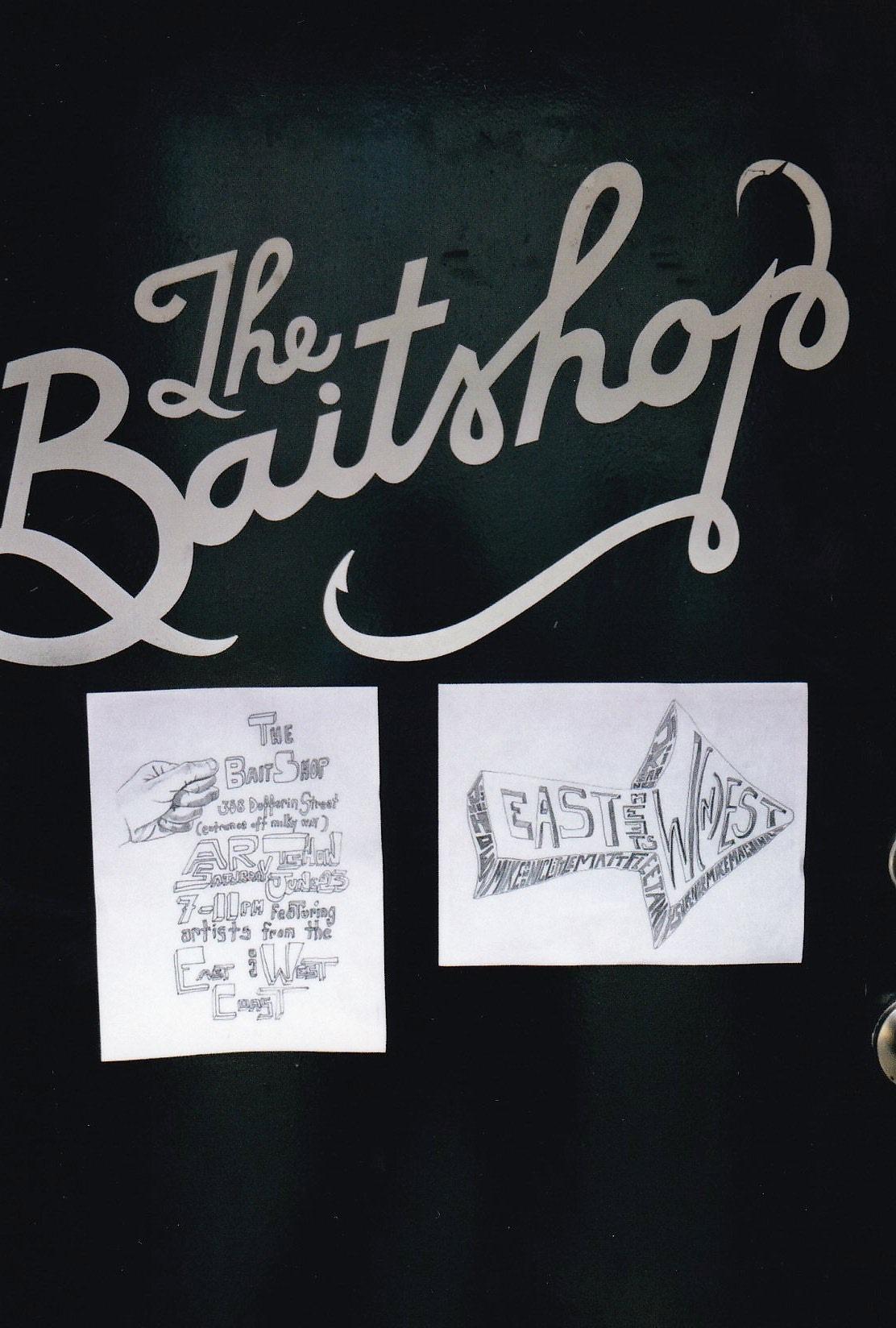 The Bait Shop art Show East Meets West