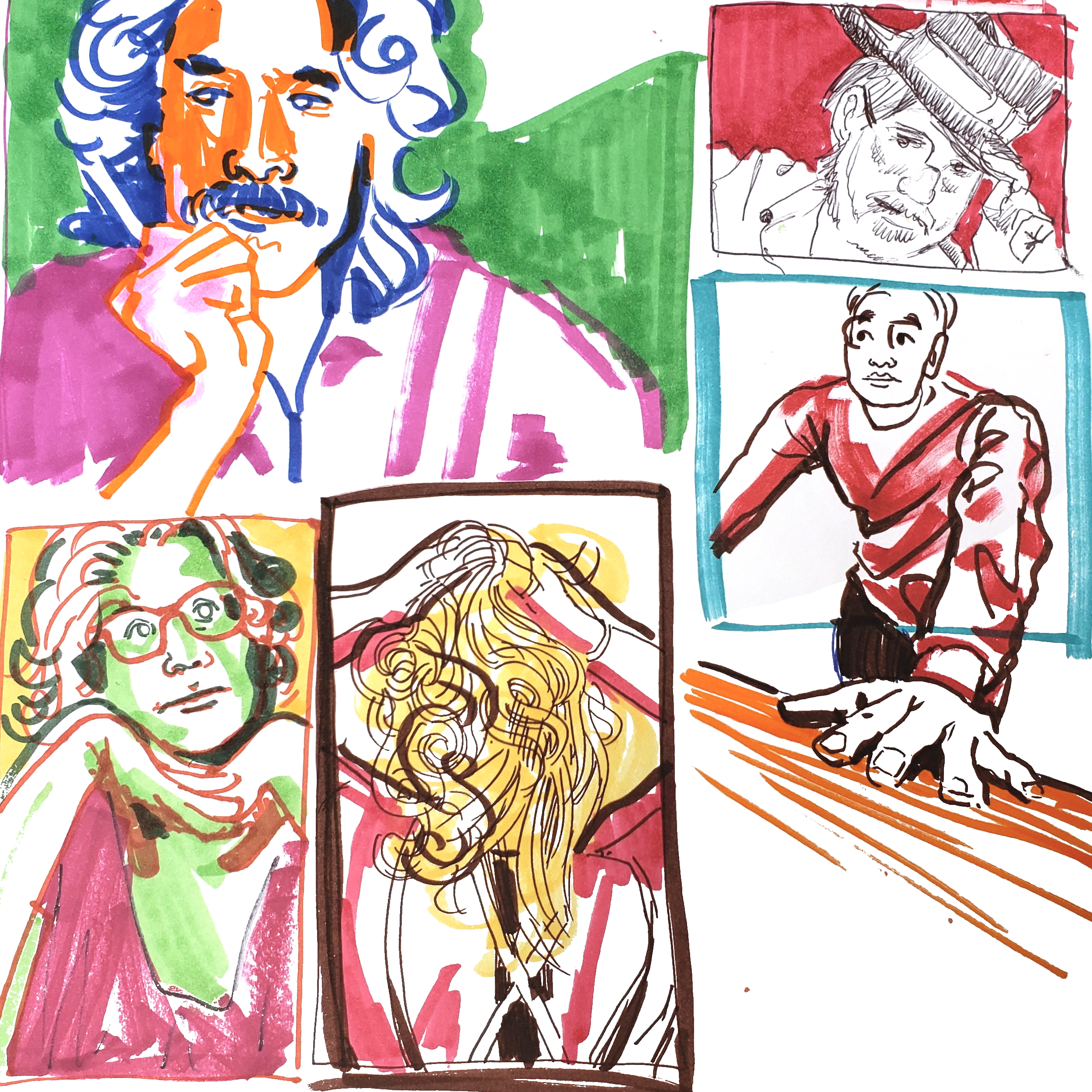 Five Minute Portraits - From Jake to Anthony