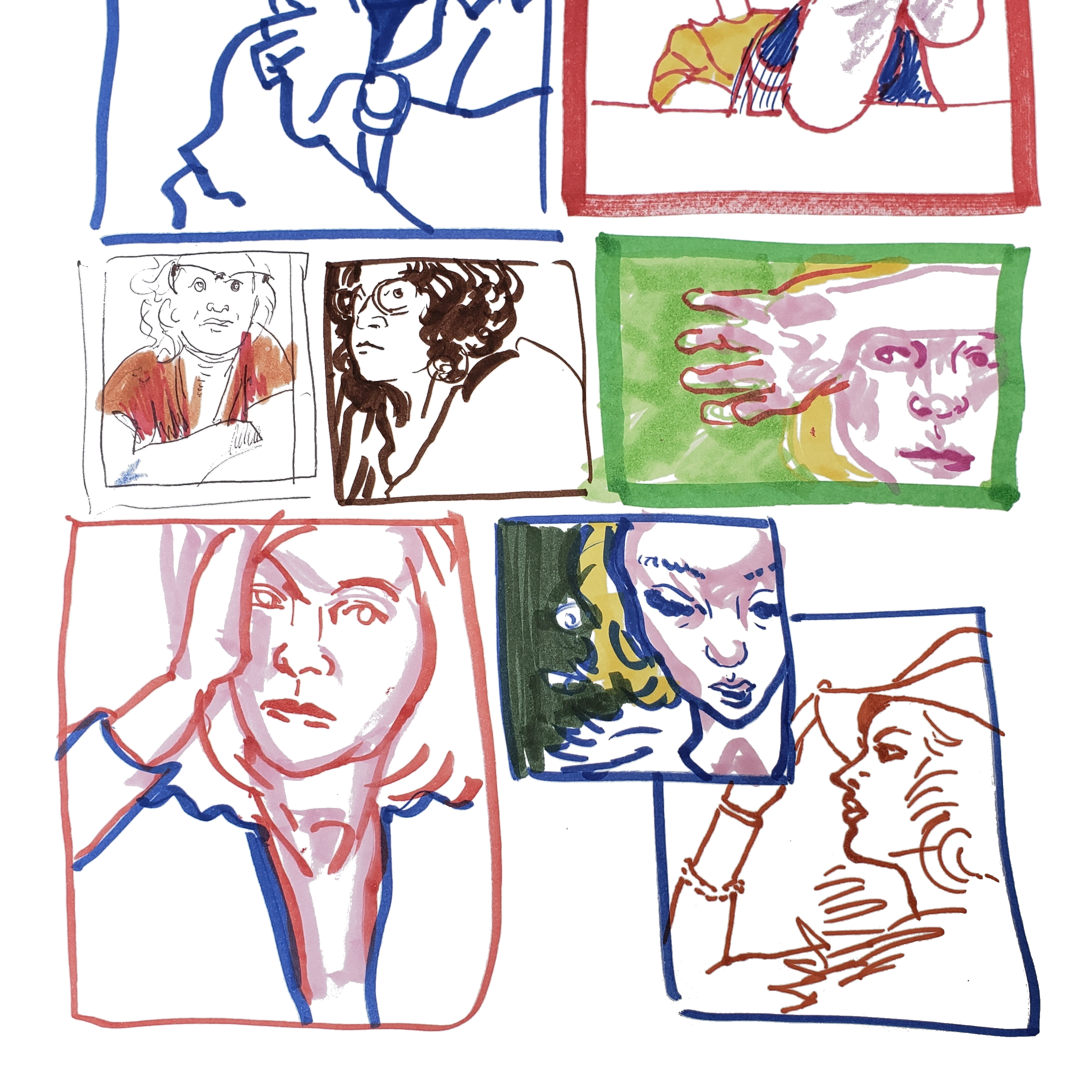 Two Minute Portraits - The Women