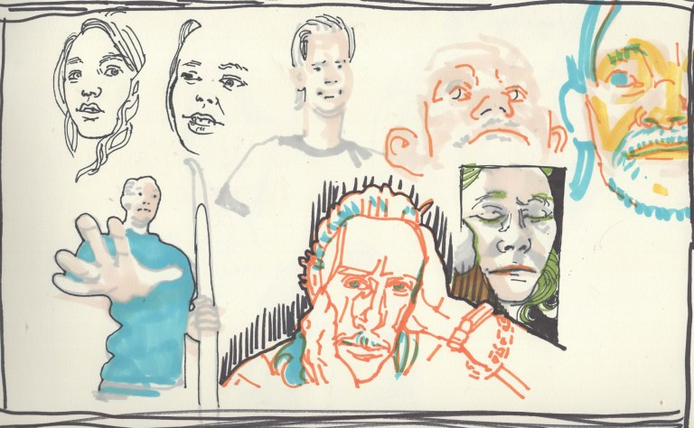 Collective Two and Five Minute Drawings