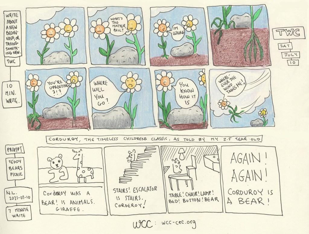 short comics litneo WCC