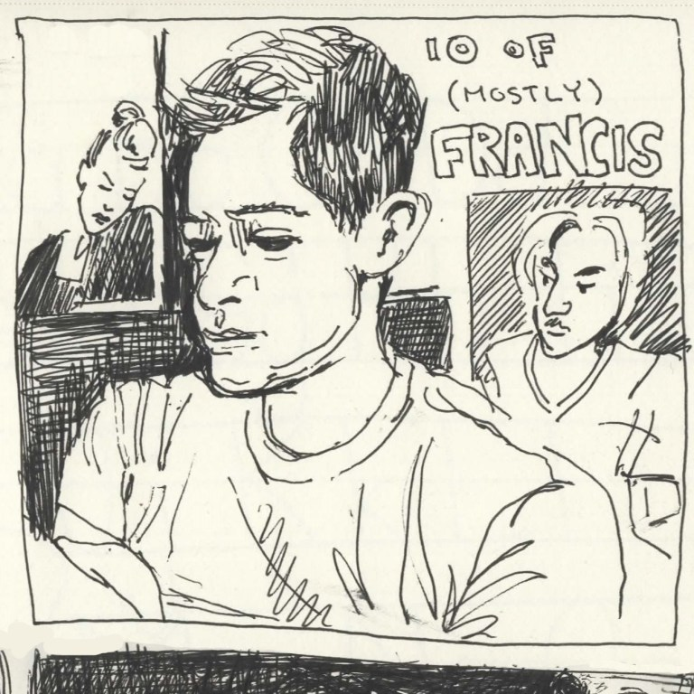 Comic Panels for the Collective - 6 Minutes of Francis