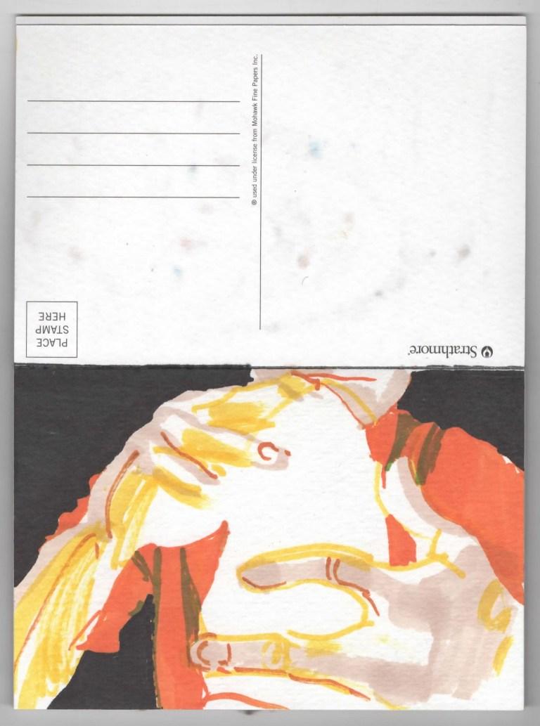 Postcard Five Anthony Light