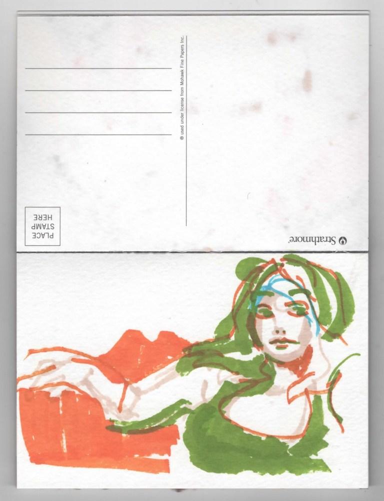 Postcard Five Kim