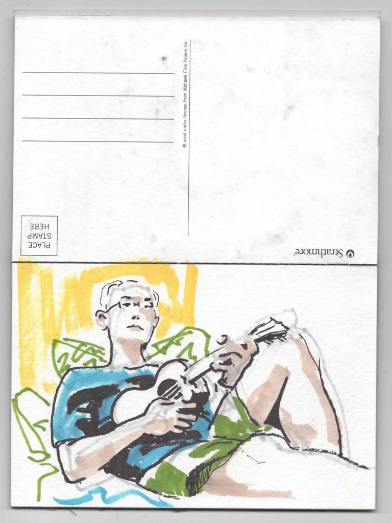 Postcard Ten Anthony