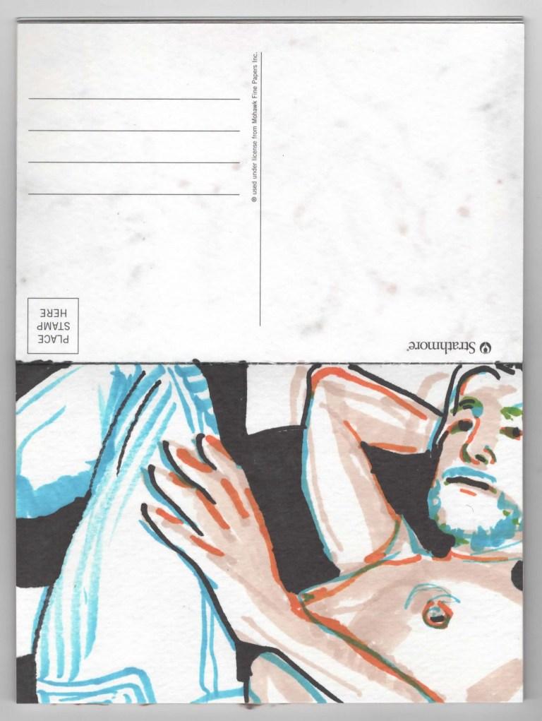 Postcard Ten Brian