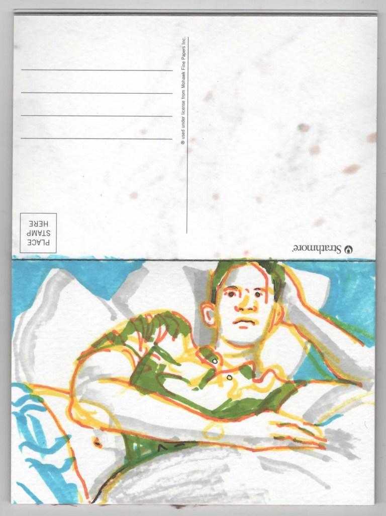Postcard Ten Francis