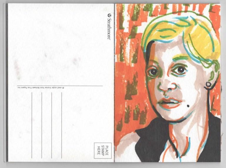 Postcard Ten Liz
