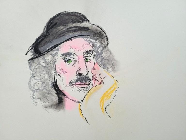 Ten Minute Post - Jake in Pastel and Pen