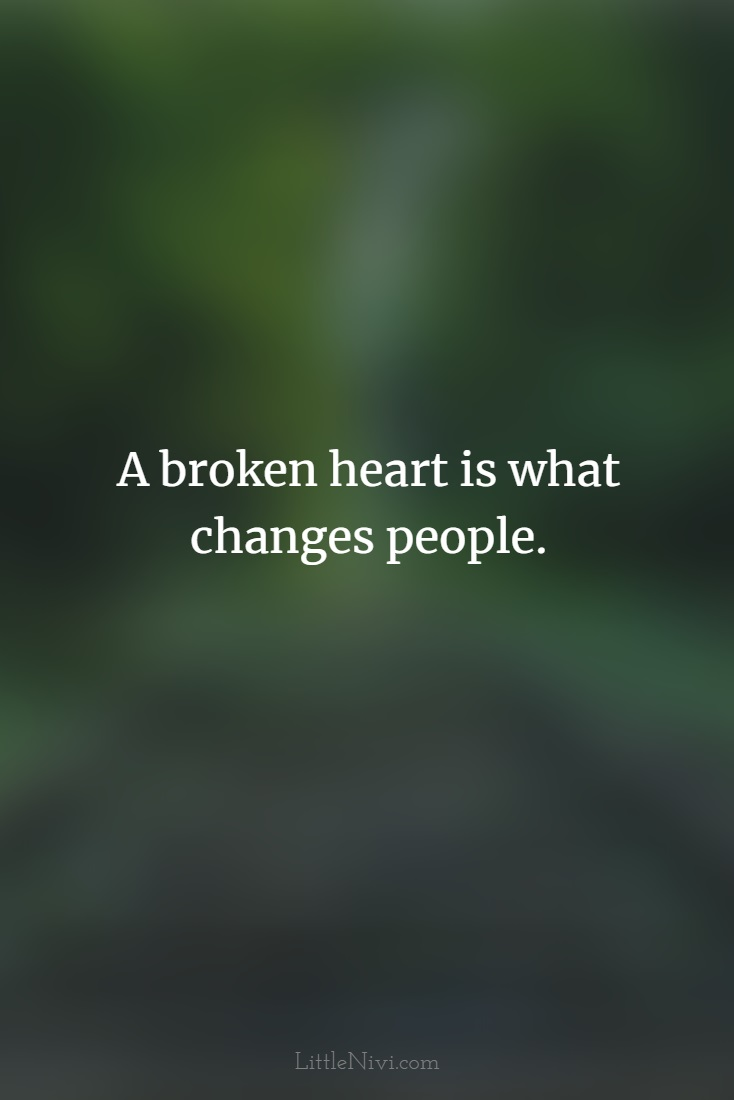 heart broken pictures with messages