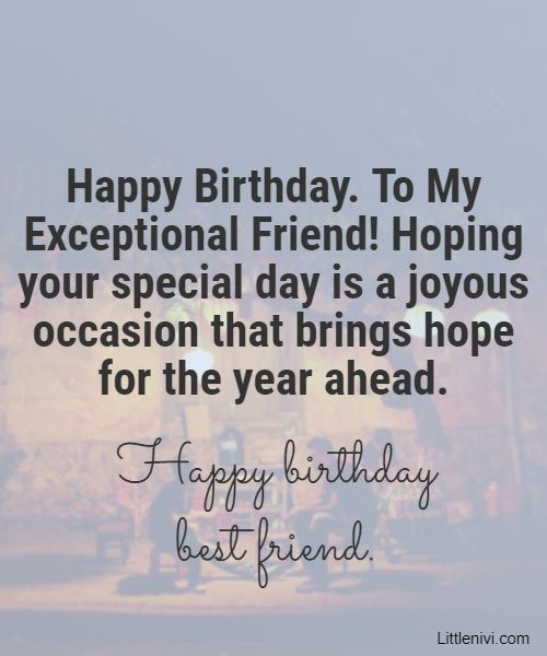 56 Birthday Wishes For Friends Happy Birthday Quotes Littlenivi Com