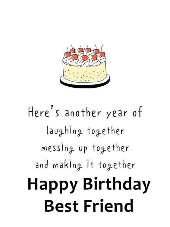 120 Happy Birthday Best Friend Birthday Wishes For Best Friend Littlenivi Com