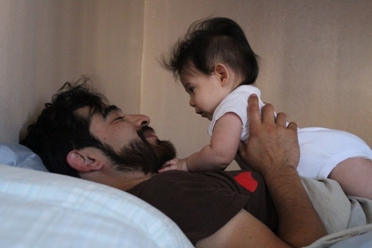 I am confident in this man, confident that he will set high standards for the men that come into our daughter's life.