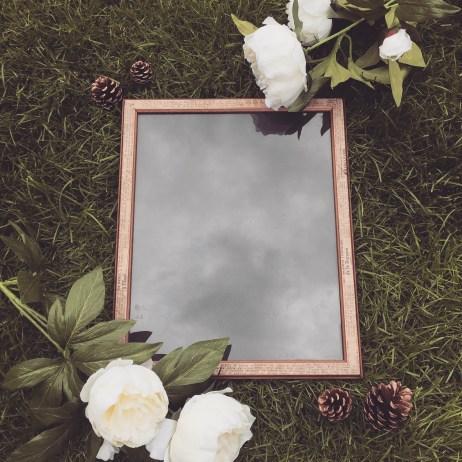 Decoupaged Frame