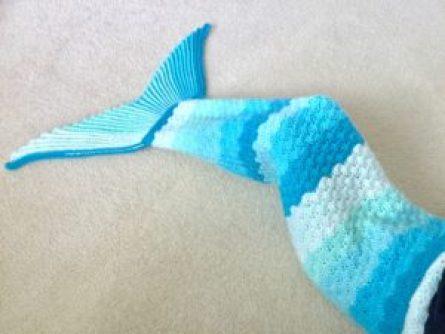 Sophie Mermaid Tail Blanket Pattern Sew Free Crochet Child To