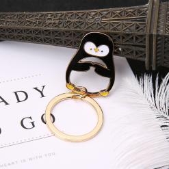 Penguin Pendant Keyring