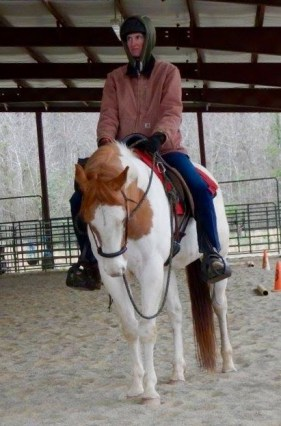 "Sometimes: He Is A ""Western Dressage Pony"""""