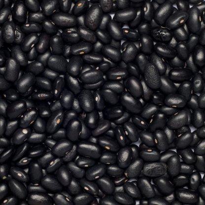 close up of Black Beans Organic