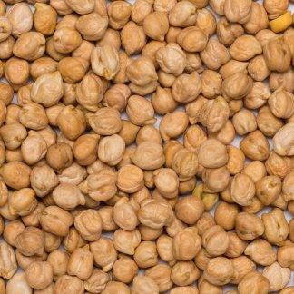 close up of Chickpeas Organic