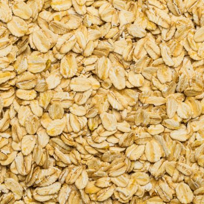 close up of Oat Flakes Coarse Organic