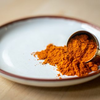 Organic ground chilli powder bio