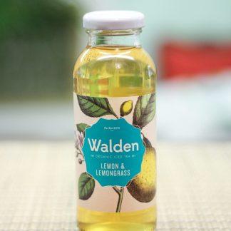 ice tea lemon & lemongrass organic walden